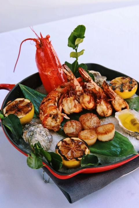 Grilled Shellfish Platter