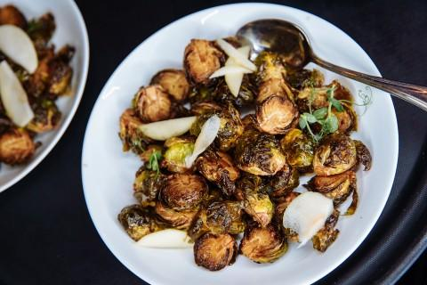 Honey Soy Brussel Sprouts