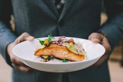 Seared Norwegian Salmon